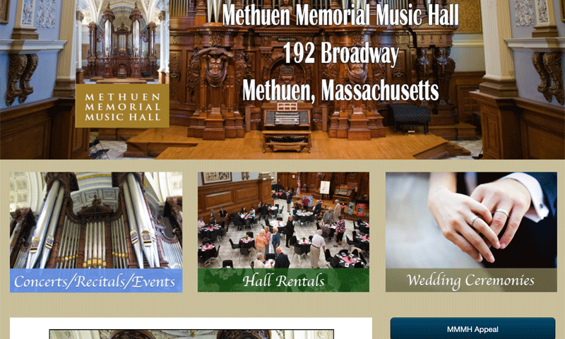 Methuen Memorial Music Hall
