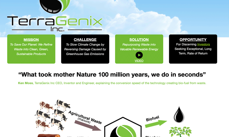 TerraGenix Inc
