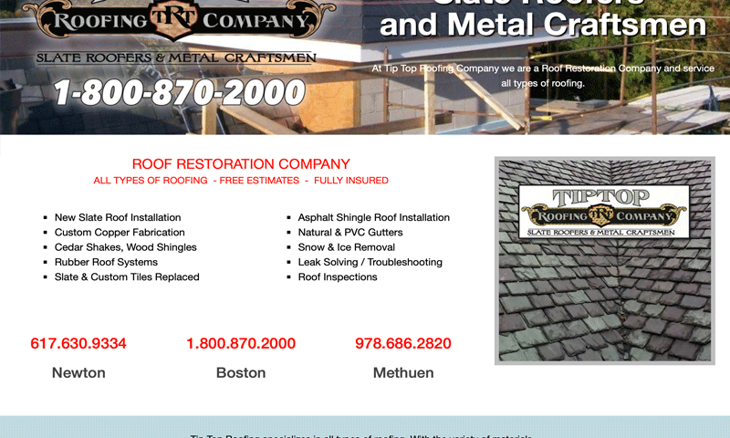 Tip Top Slate Roofing